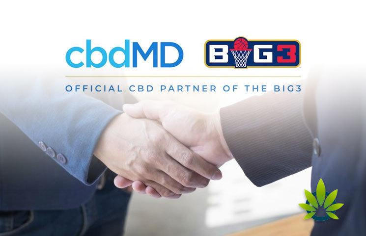 A Look at cbdMD CBD Brand's Ice Cube and BIG3 Basketball League Partnership