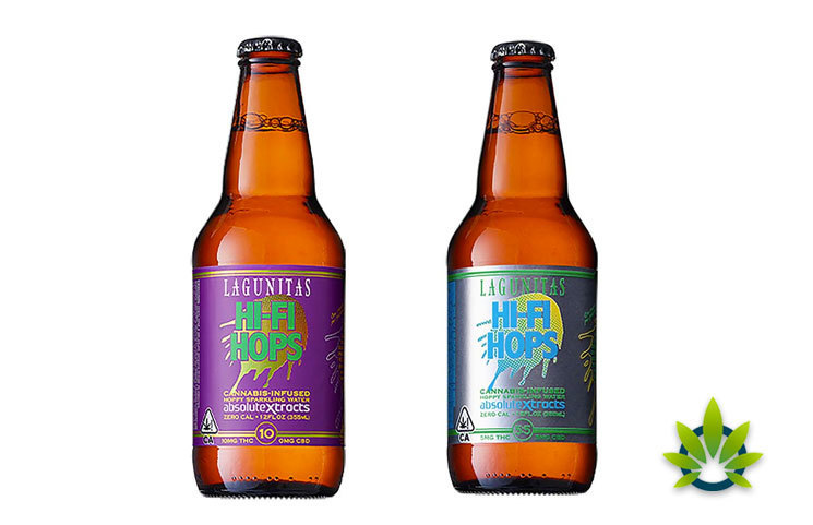 CannaCraft's AbsoluteXtracts, Lagunitas Brewing's Hi-Fi Hops CBD Drinks Hits Colorado Shelves