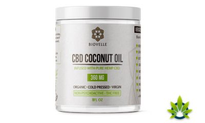 Biovelle CBD Coconut Oil: Pure Hemp CBD-Infused Product