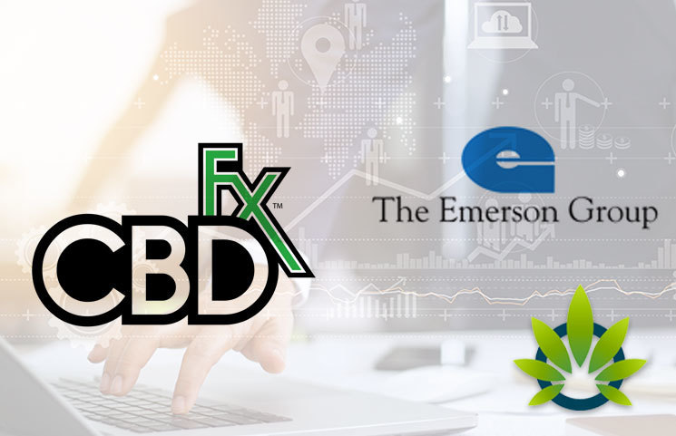 CBDfx Hemp-Derived CBD Company and Emerson Group Partner to Expand Retail Availability