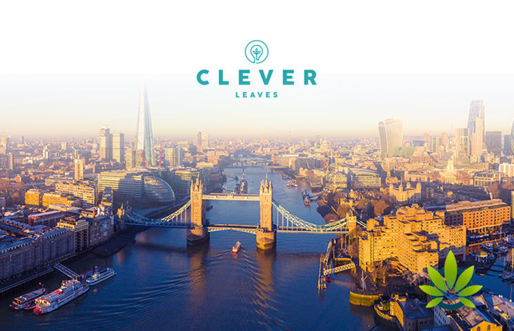 Colombia Cannabis Company Clever Leaves to Launch CBD Wellness Brand in London