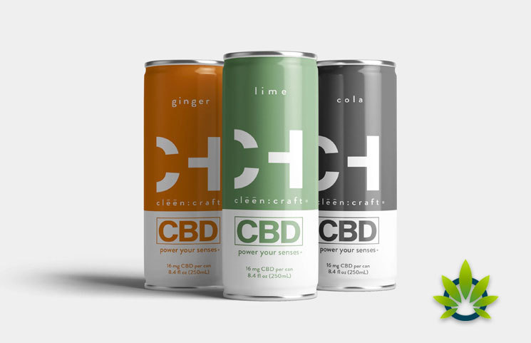 Consumers Can Drink CBD with clēēn:craft Carbonated Beverages