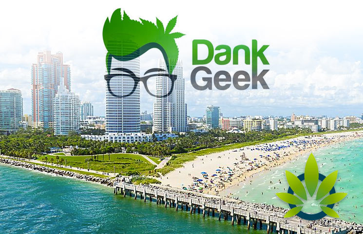 "DankGeek CBD Pegs Florida ""The Epicenter of the Exploding CBD Trend,"" Miami at the Forefront"