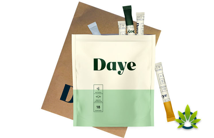 Daye Releases New Cannabis Tampons with CBD Extract to Soothe Menstrual Cramps