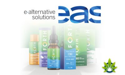 New Forth CBD Product Line by E-Alternative Solutions Presented at NACS Conference 2019