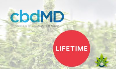 cbdMD Cannabidiol Brand and Life Time Partner to Educate Public on CBD