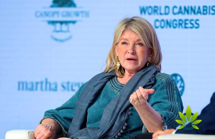 Martha Stewart and Canopy Growth's CBD-Infused Products to Launch by Mid-2020