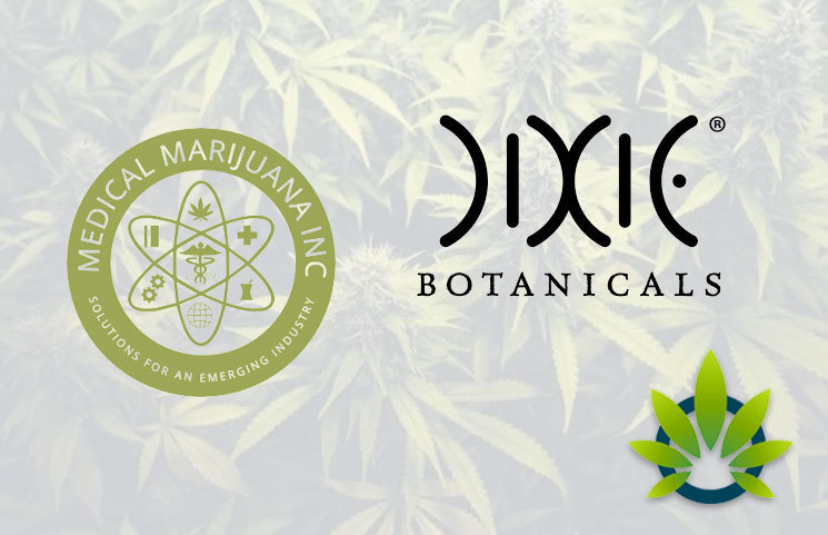 Medical Marijuana, Inc (MJNA) and Dixie Botanicals Partner