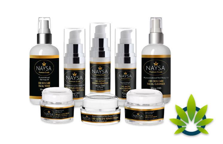 NAYSA CBD: Premium-Grade Pure CBD Hemp Extract Product Line
