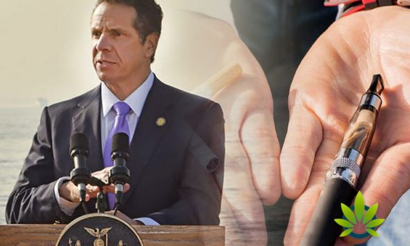 New York Governor Looks to Ban Flavored E-Cigarettes Statewide Amid Marijuana Vaping Risks