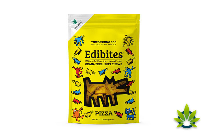 Pet Releaf Releases Full Spectrum CBD Edibites in New Barking Dog Collection