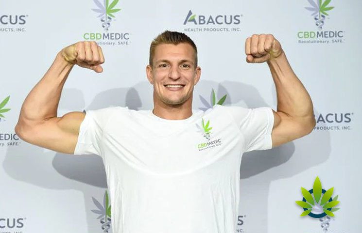 CBD Supporter Rob Gronkowski Talks Fixing CTE, Treating Head Injuries in Interview