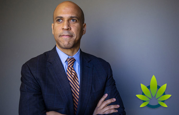 Senator Cory Booker Gives Marijuana Legalization a High-Five, Says Its Safer than Fast Food Fries