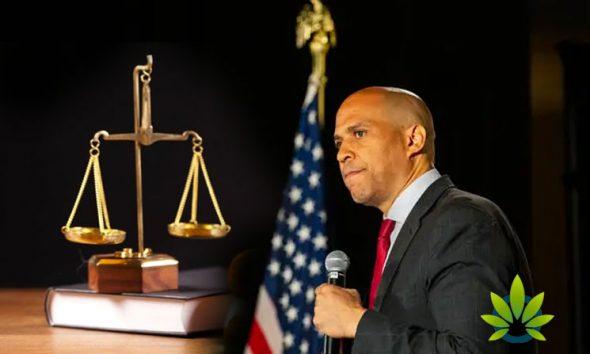 Senator Cory Booker Will Only Support Marijuana Bills Which Back Restorative Justice