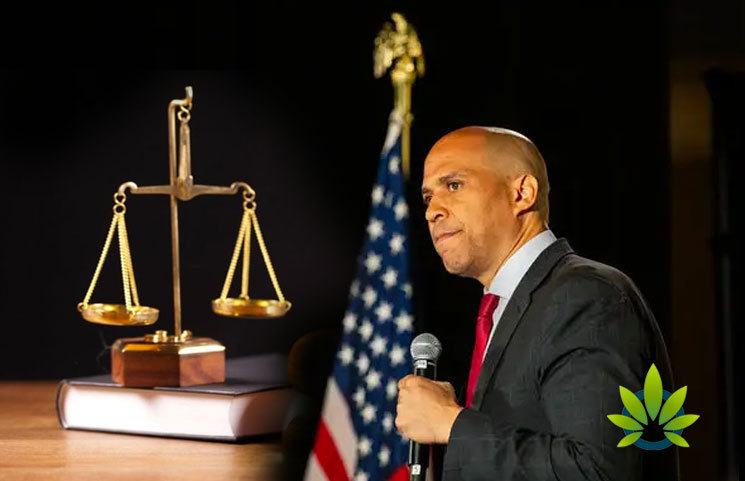 Senator Cory Booker Will Only Support Marijuana Bills Which Back Restorative Justice
