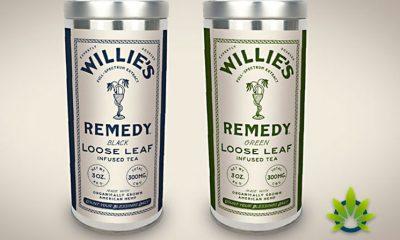 Three New Willie Nelson Hemp CBD-Infused Loose Leaf Tea Flavors Announced