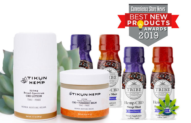 Tikun Hemp Adds CBD Balm and Lotion While Tribe CBD Shots Wins Award