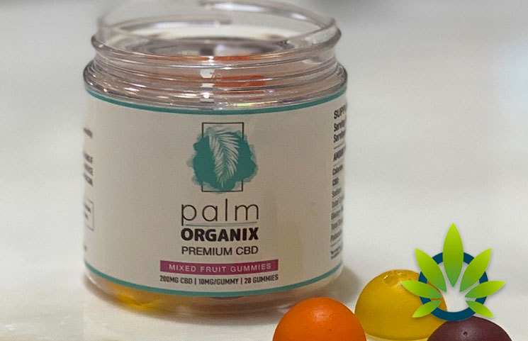 New Palm Organix Broad Spectrum CBD Gummies Launch with Zero-THC