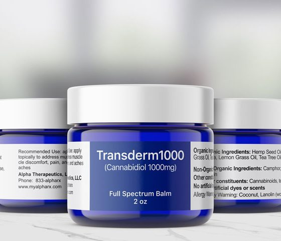 Topical CBD Healing Balms Now Offered by Alpha Therapeutics