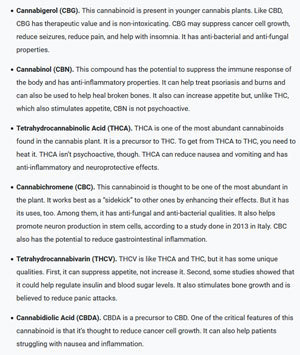 cbg-cbn-thca-cbc-thcv-cbda-cannabinoids-benefits-list