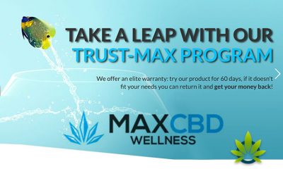 Maxcbd Wellness Unveils New Website and a Trust-Max Plan Trial Refund Policy