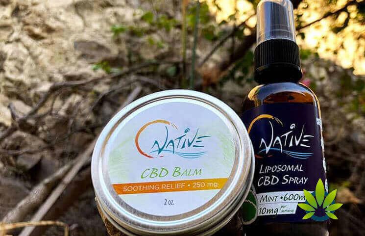 native cbd balm