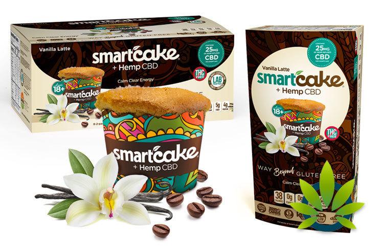Smartcakes and Smartbuns Hemp CBD Products by Smart Baking Company