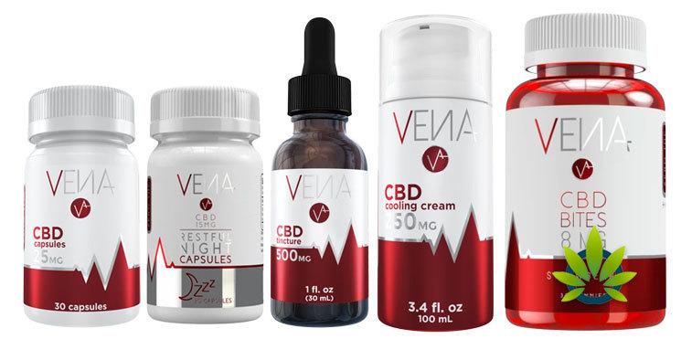 vena cbd products