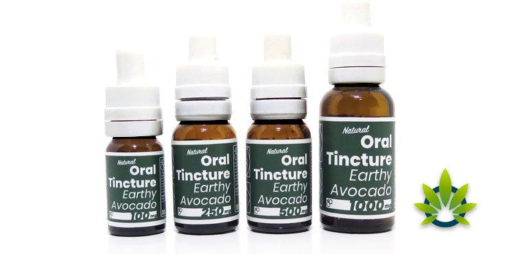 4 corners cannabis avocado oil tincture