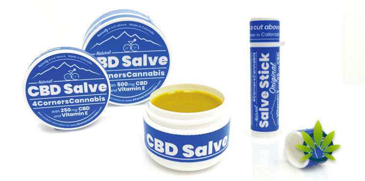 4 corners cannabis cbd salve