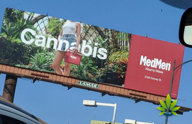 Cannabis Billboard Advertisements May Soon Be Restricted in San Diego