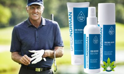Golfer Greg Norman Launches New CBD Product Line for Active Men and Women