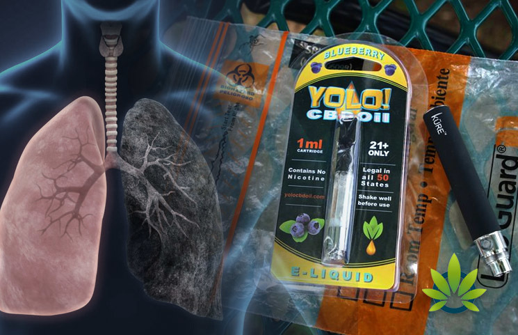 Health Officials Linked Yolo! CBD Vape Cartridges to Current Vaping Lung Crisis