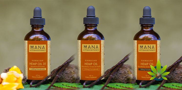 Mana Artisan Botanicals oils