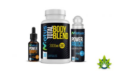 Motus Active Launches Three New CBD Fitness Products for Athletes