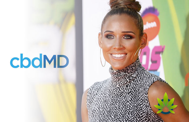 Olympic Hurdler Lolo Jones Joins CBD Industry with cbdMD Partnership