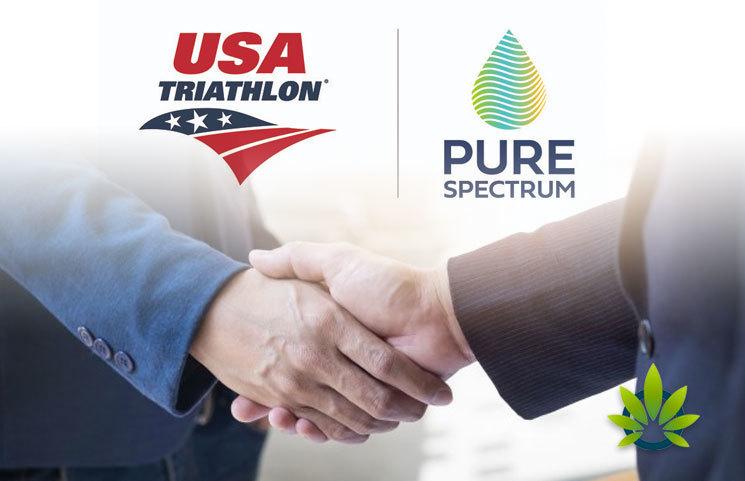The USA Triathlon and Pure Spectrum Partner for CBD-Related Sponsorship