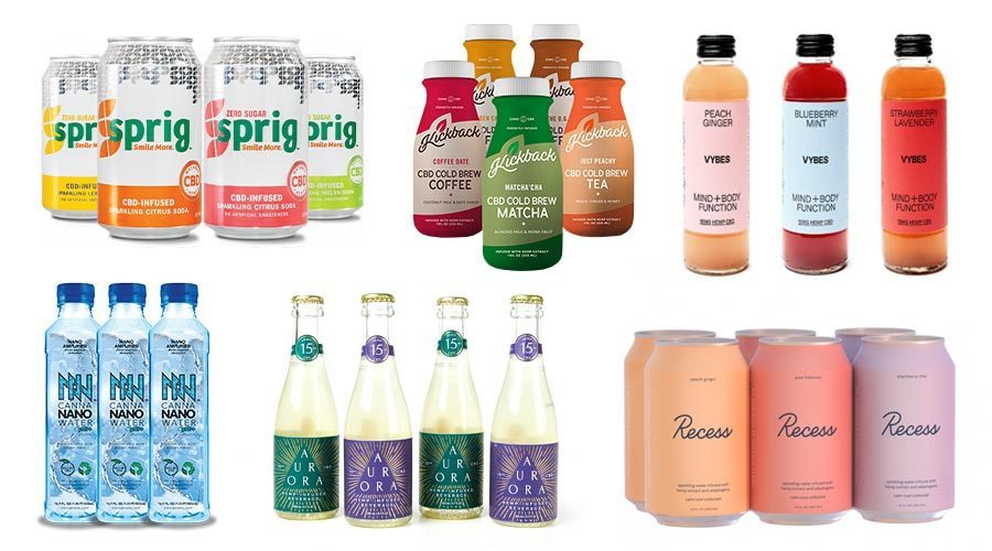 Top 40 Best CBD Drink Beverages in 2020