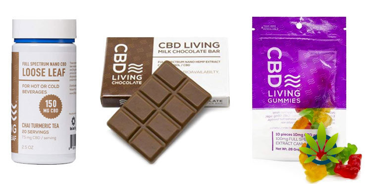 cbd living edibles