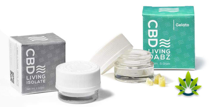 cbd living concentrates isolate