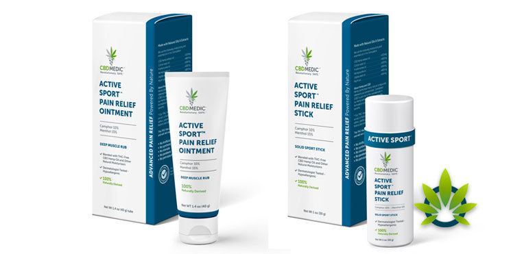 cbdmedic active sport pain relief