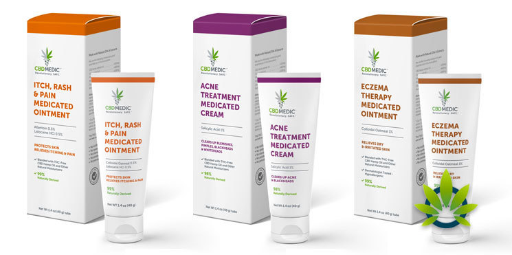 cbdmedic skin care treatments