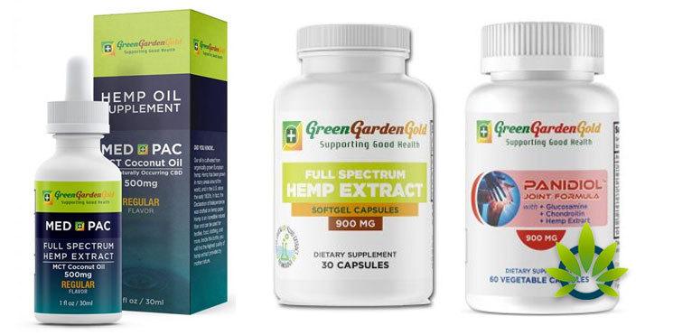 green garden gold capsules