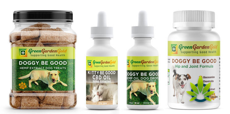 green garden gold pet products