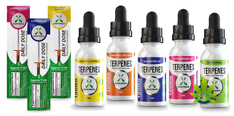 green roads terpenes
