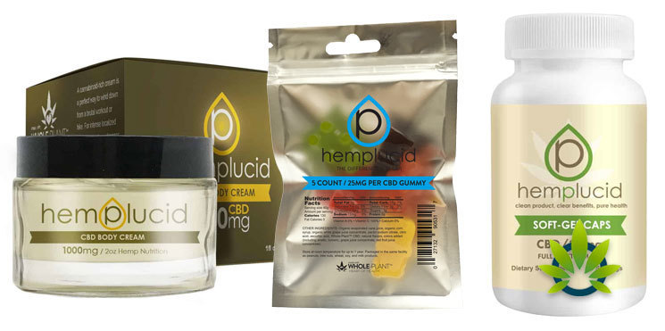 hemplucid cream gummies capsules