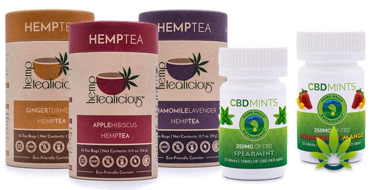 hemptea and cbd mints