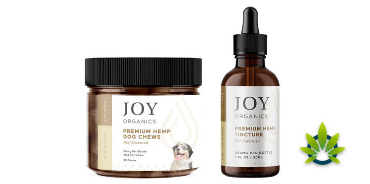 joy organics pet products