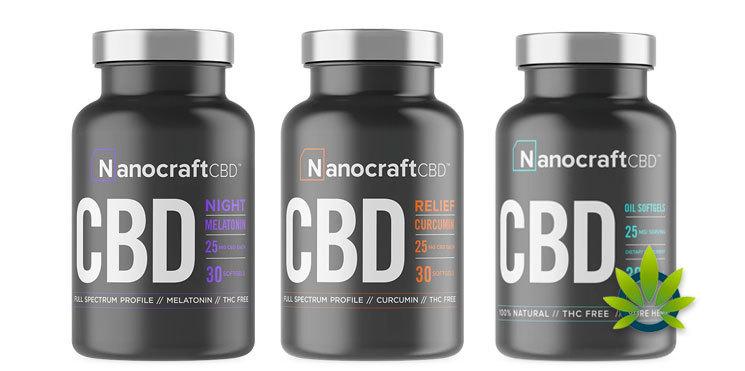 nanocraftcbd softgel capsules