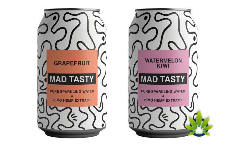 MAD TASTY Hemp Sparkling Water Launches by OneRepublic's Ryan Tedder